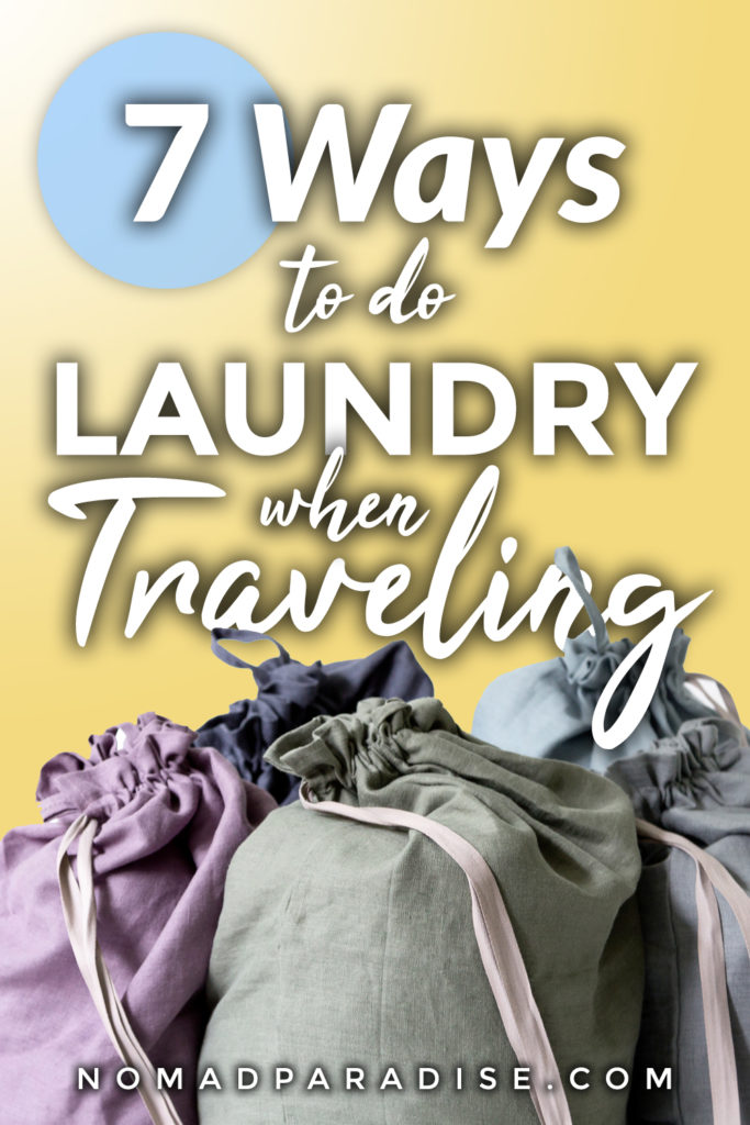 how to do laundry when traveling