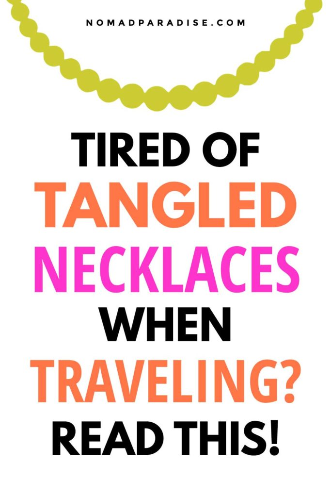 How to Pack Necklaces While Traveling