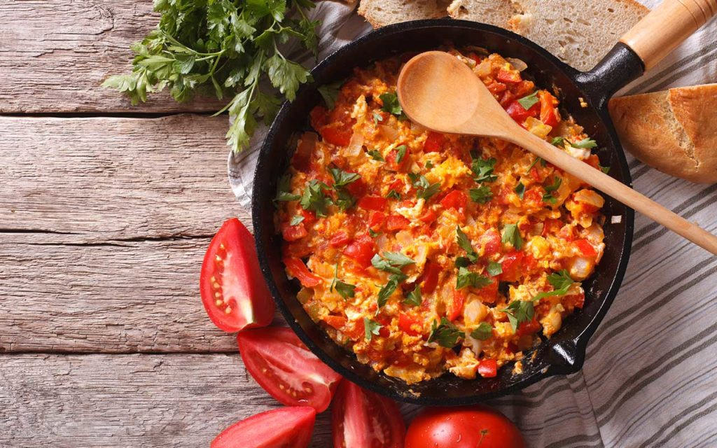 Menemen - Turkish food
