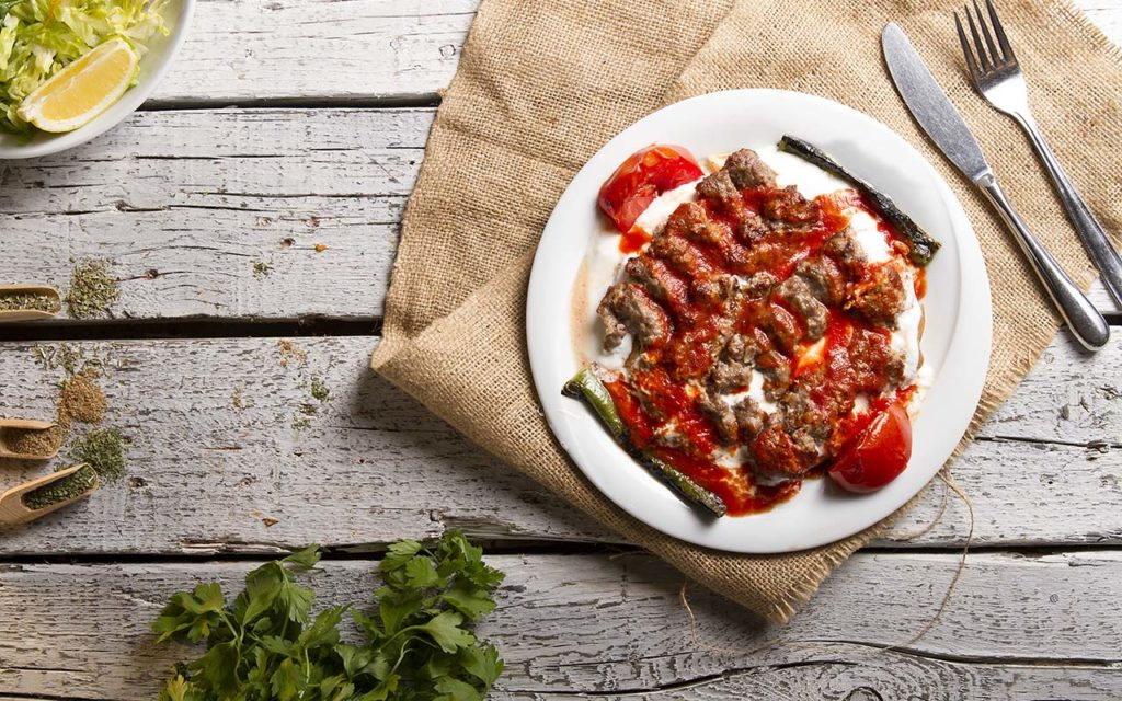 Iskender Kebab - Turkish food