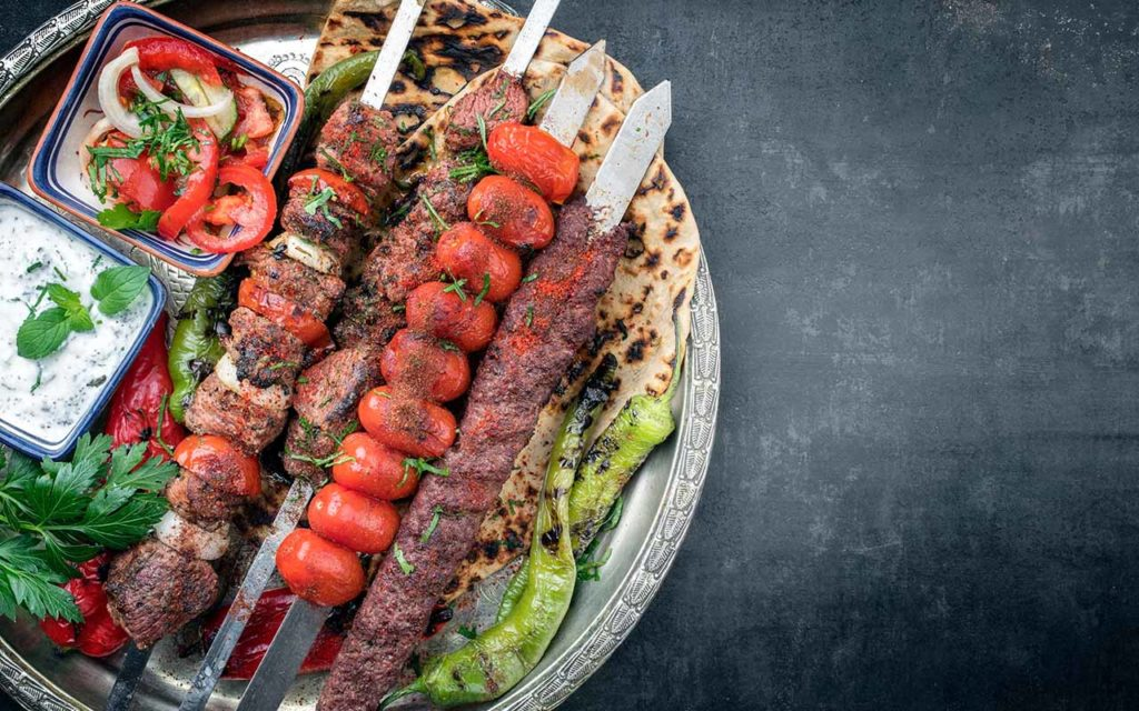 Sis Kebabs - Turkish food
