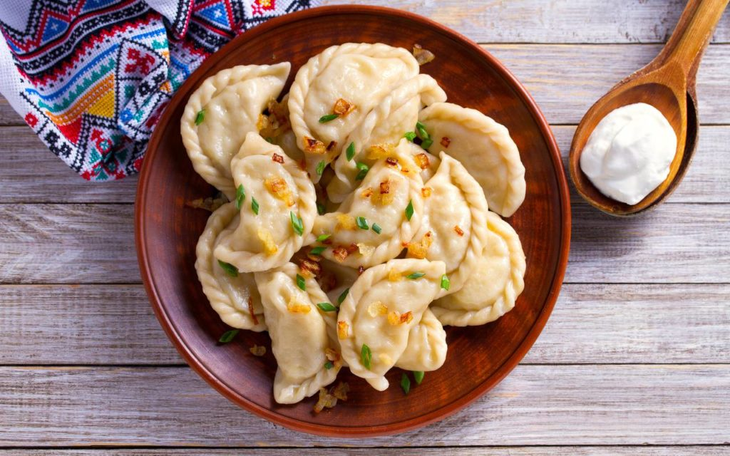Ukrainian verenyky dumplings