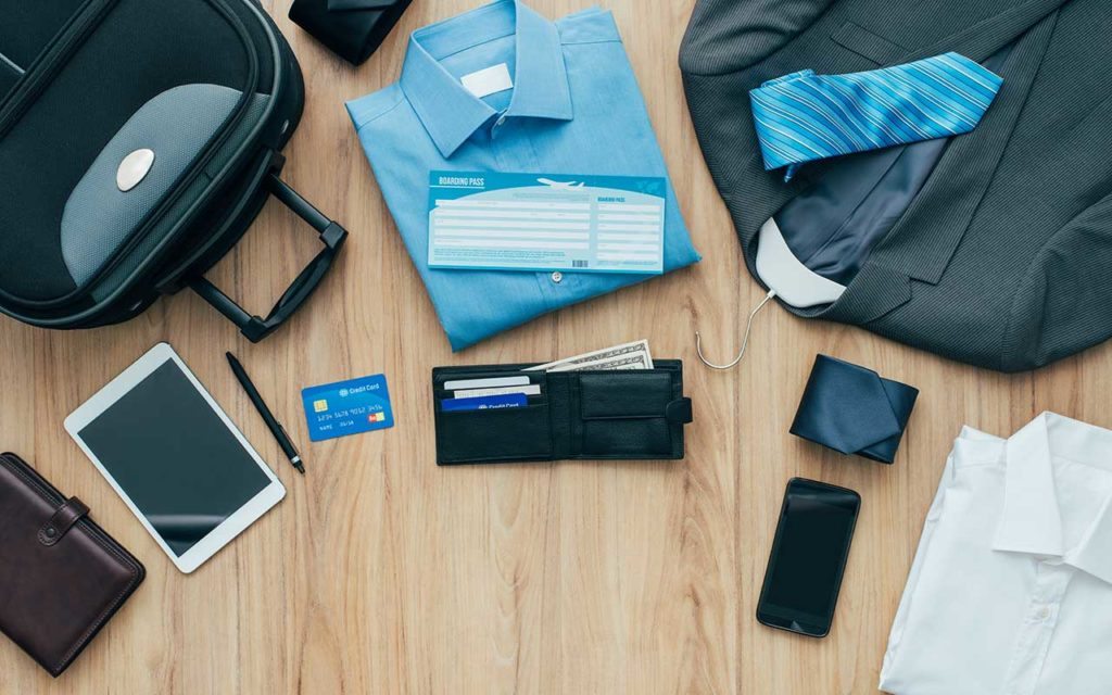 business travel tips packing