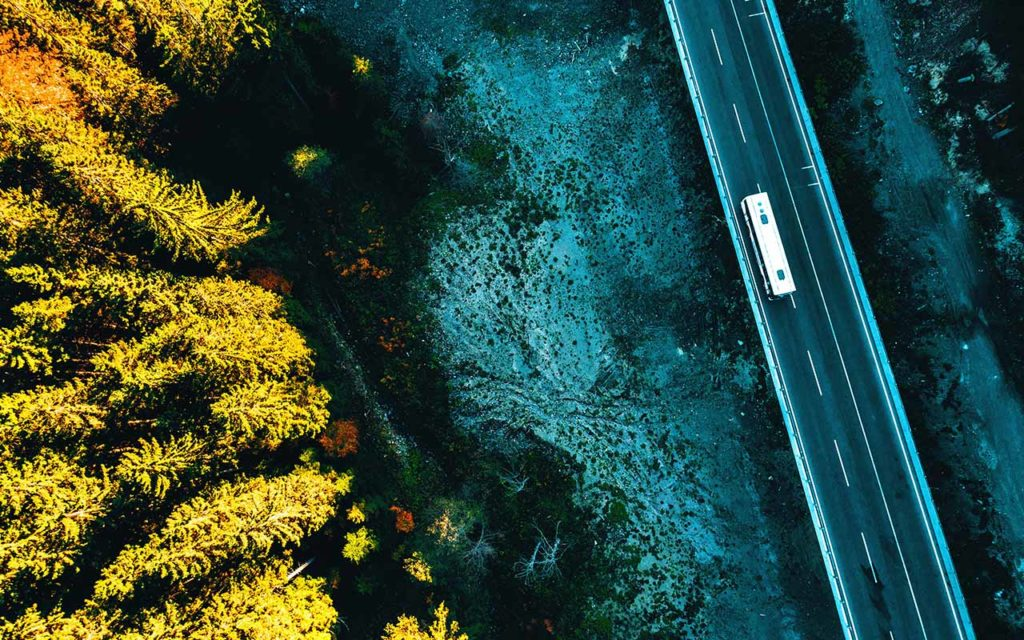 Aerial view Bosnia