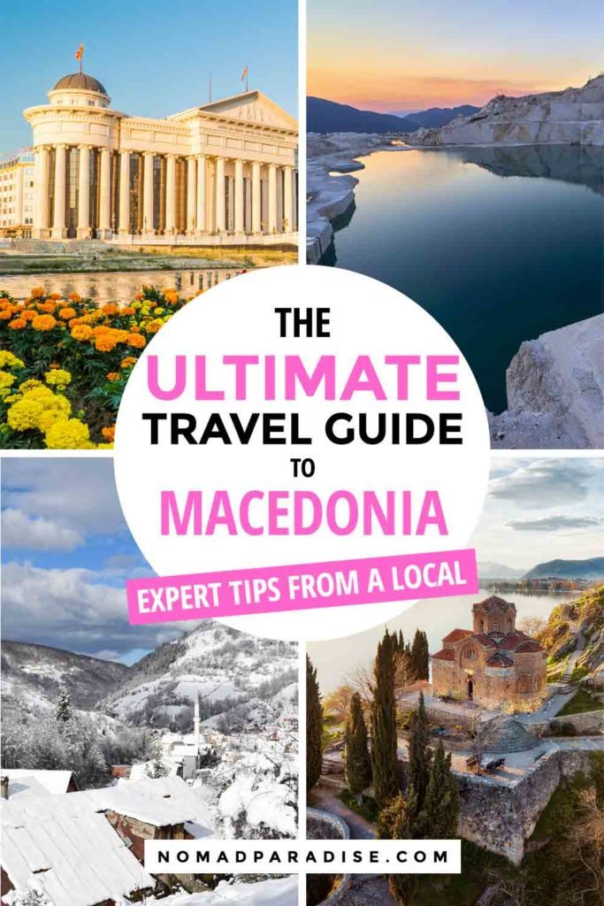 North Macedonia travel blog — from essential Macedonia travel tips to mind-blowing places to visit in Macedonia to 'is Macedonia safe' answers, a local shares her top travel guide for useful and fun things to know before traveling to Macedonia. #travelmacedonia#macedonia#skopje#bitola #ohrid