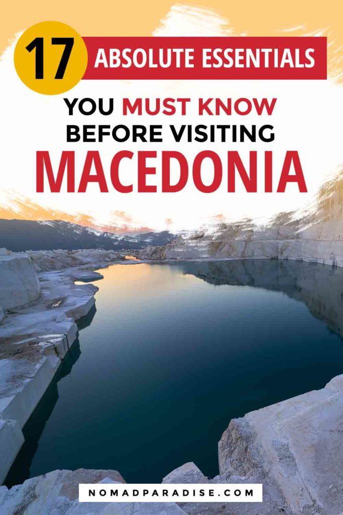 North Macedonia travel guide — from essential Macedonia travel tips to the best places to visit in Macedonia, a local answers all your questions about traveling to Macedonia. Packed with helpful information, including safety tips, local recommendations, where to stay, what to do, things you never knew about North Macedonia, and so much more, it will help you plan the perfect trip to Macedonia. #travelmacedonia #macedonia #skopje #bitola #ohrid #northmacedonia