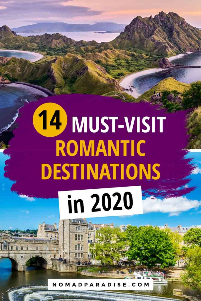 Romantic Destinations to Visit in 2020