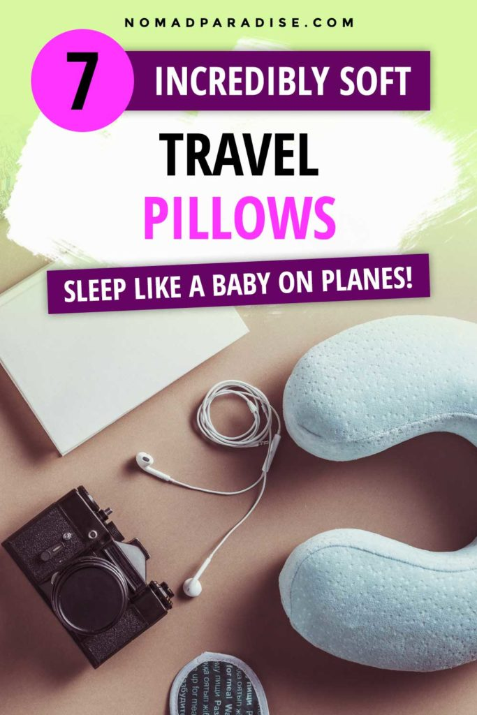 incredibly soft travel pillow