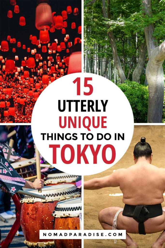 unique things to do in tokyo