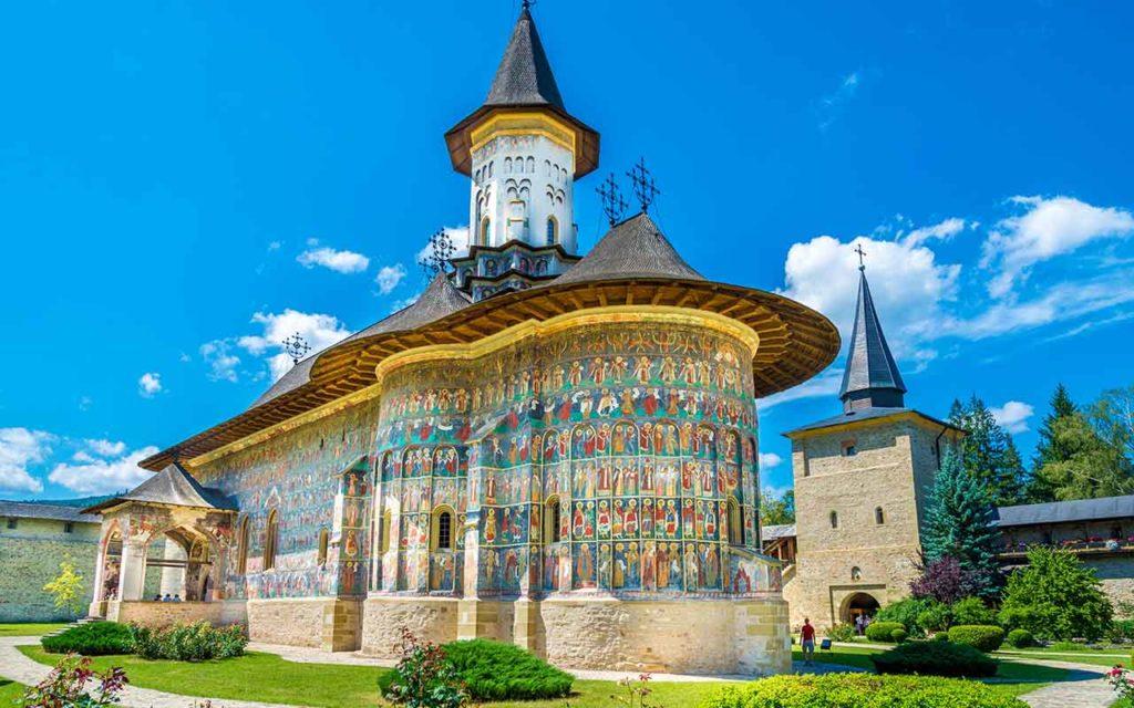 Sucevita monastery, Suceava town, Romania