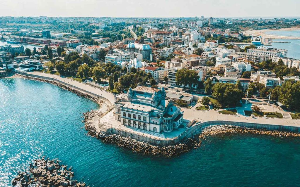 Aerial View Of Constanta, Romania