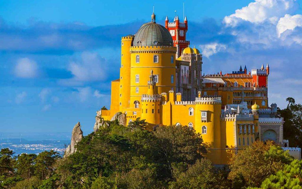 Pena Palace Sintra bucket list experiences