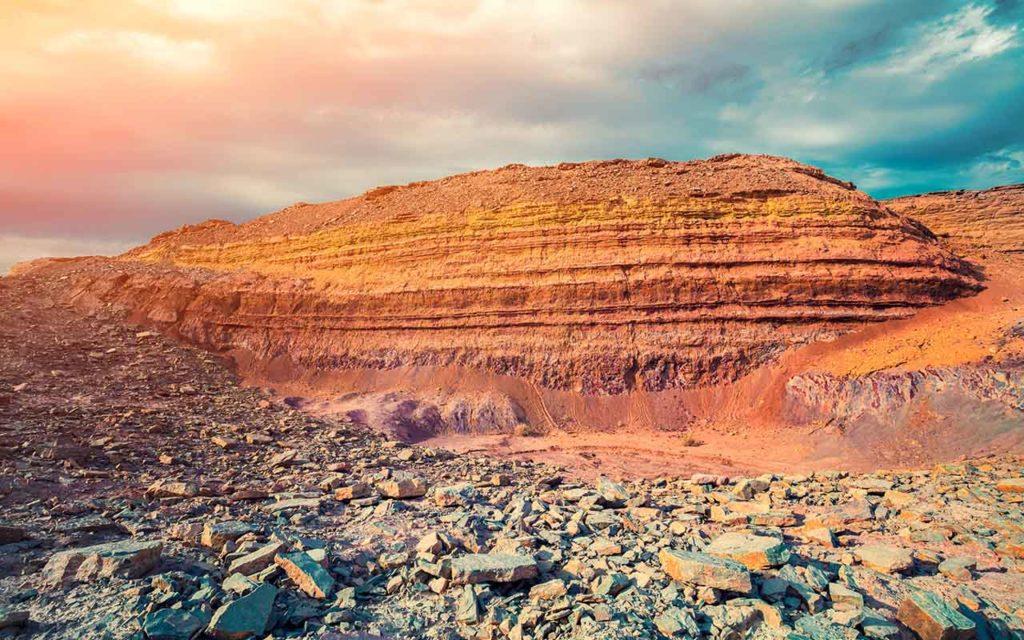 Ramon Crater Negev desert