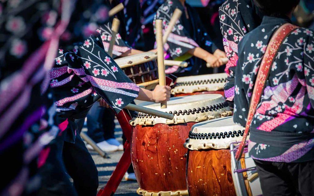 things to do tokyo taiko drumming