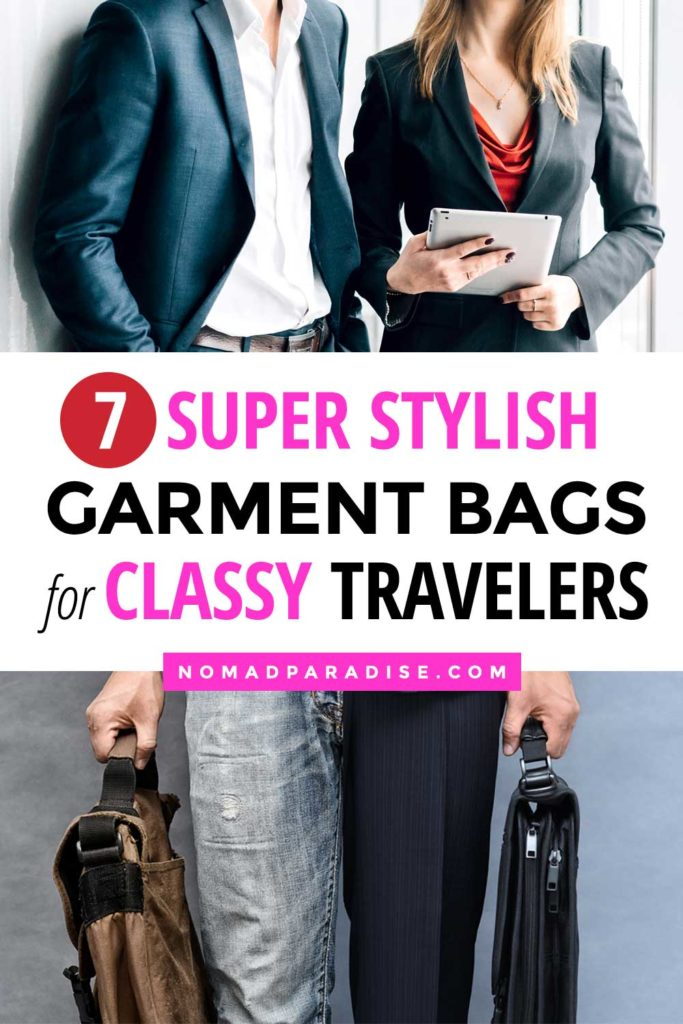 best garment bags for travel