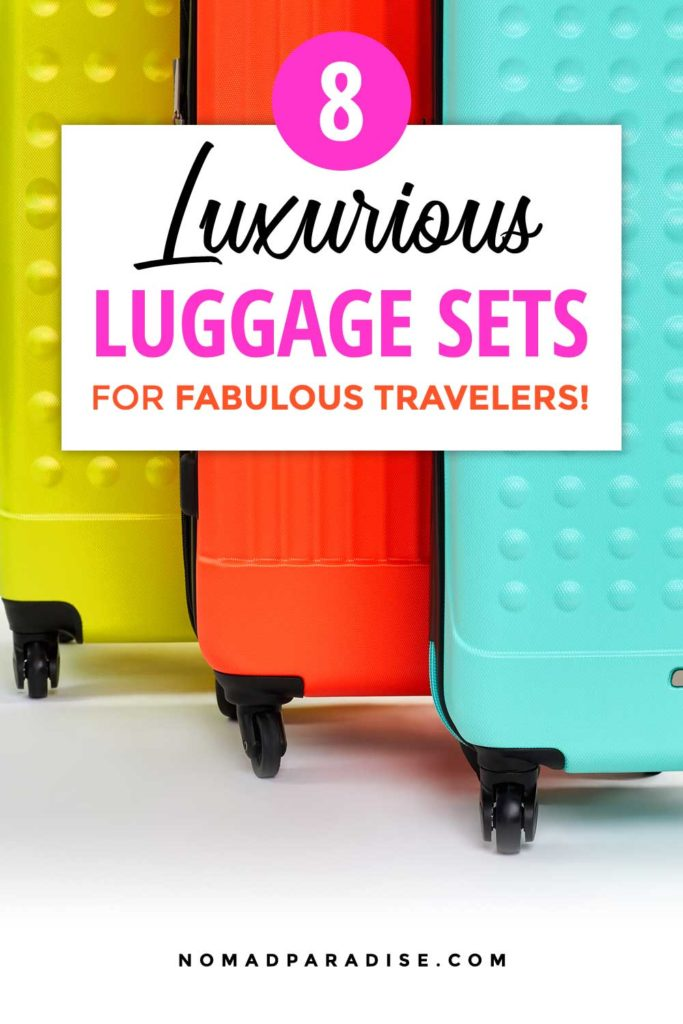 Best Luggage Sets - Nomad Paradise