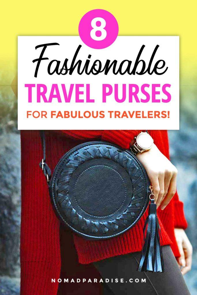 Fashionable Travel Purses