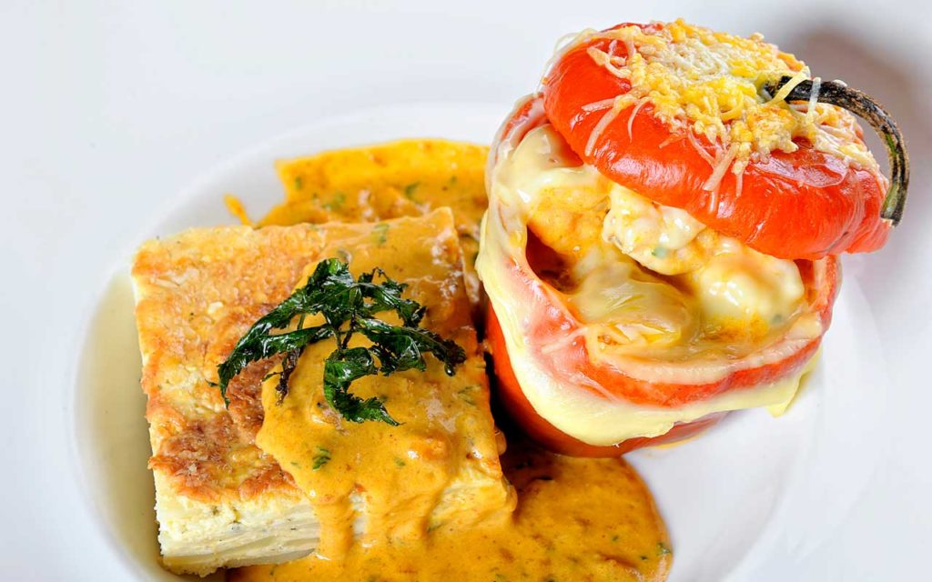 Peruvian Food: Rocoto Relleno (Stuffed Pepper)