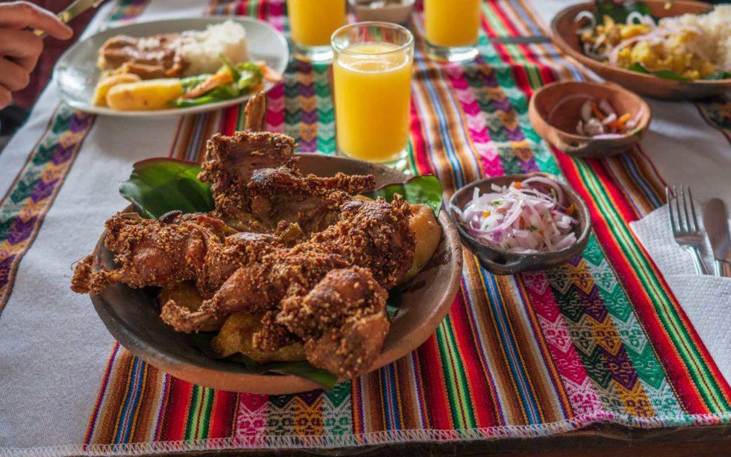 Peruvian Food: Cuy al Horno (Guinea Pig)