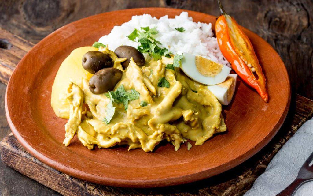 Peruvian Food: Aji de Gallina