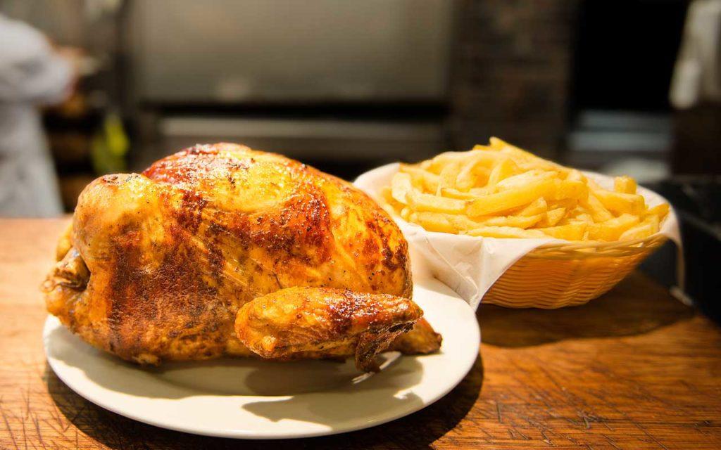 Peruvian Food: Pollo a la Brasa (Roasted Chicken)