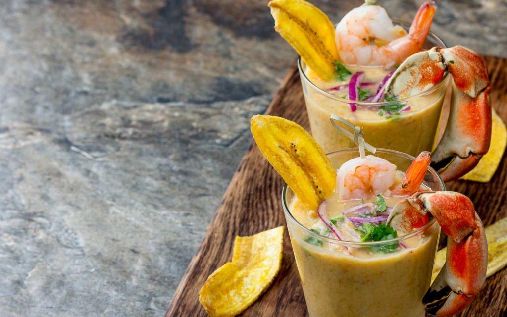 Peruvian Food: Leche de Tigre (Tiger's Milk)