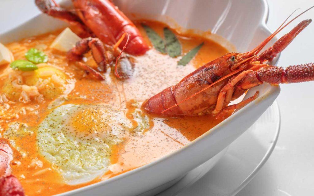 Peruvian Food: Chupe de Camarones (Shrimp Chowder)
