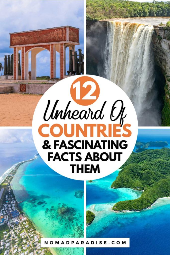 12 Countries You've Never Heard of