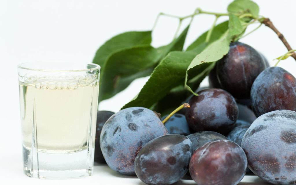 Romanian drink: Tuica (Romanian Plum Brandy)
