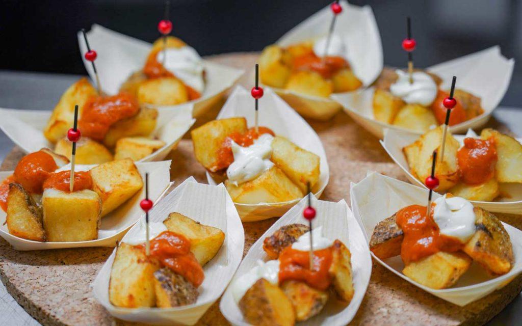 Spanish Food: Patatas Bravas