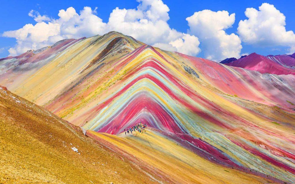 Rainbow Mountain (Montana de Siete Colores), Vinicunca, Cusco Region, Peru