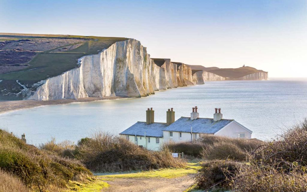 Seven Sisters Chalk Cliffs, England, UK