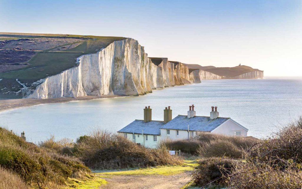 Seven Sisters Chalk Cliffs, England, UK