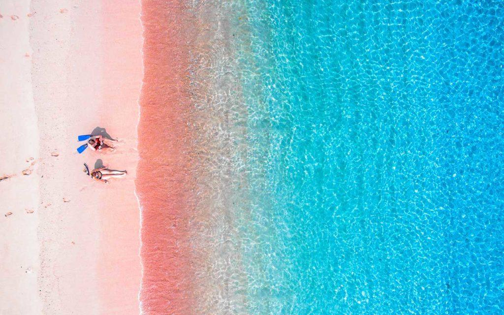 Pink Beach, Komodo, Indonesia