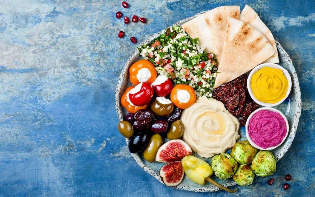 Mediterranean food: mezze
