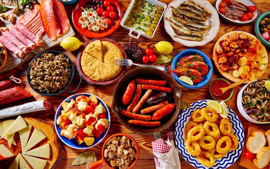 Mediterranean food: tapas