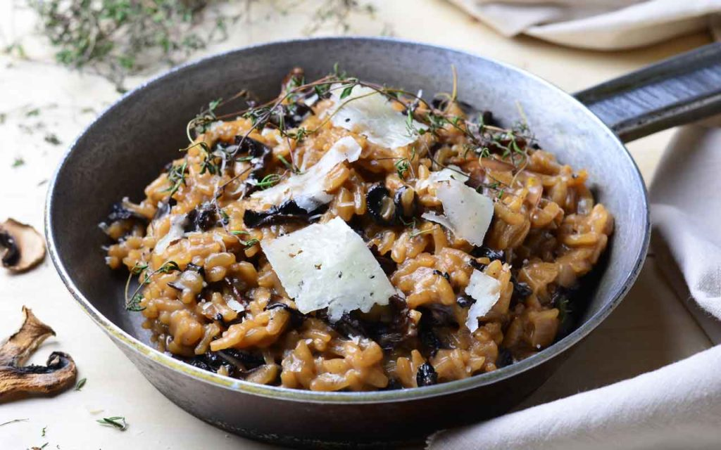 Mediterranean food: Risotto