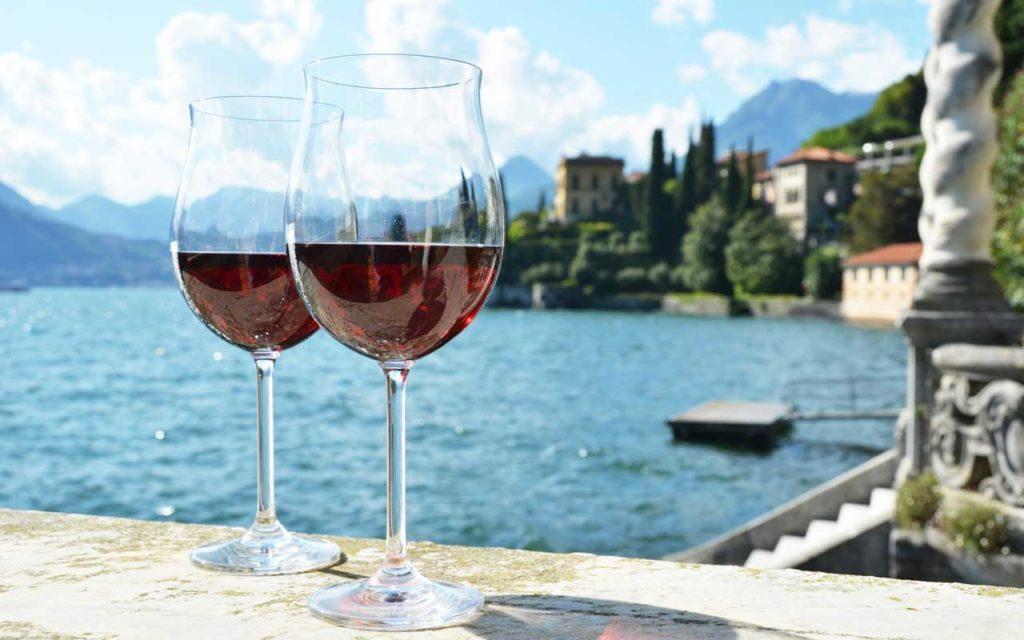 Mediterranean drink: wine