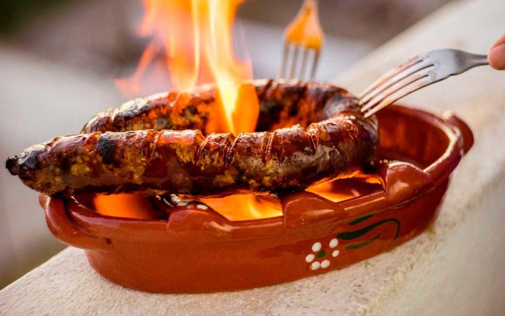 Portuguese Food: Chouriço (Traditional Portuguese Sausage)