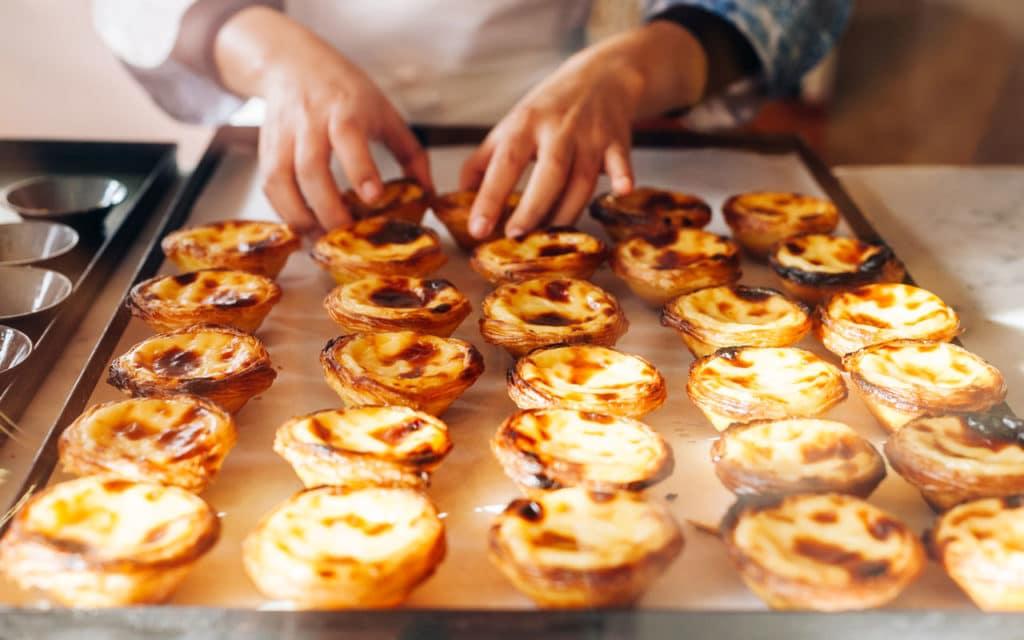 Portuguese Food: Pastéis de Nata (Portuguese Custard Tarts)