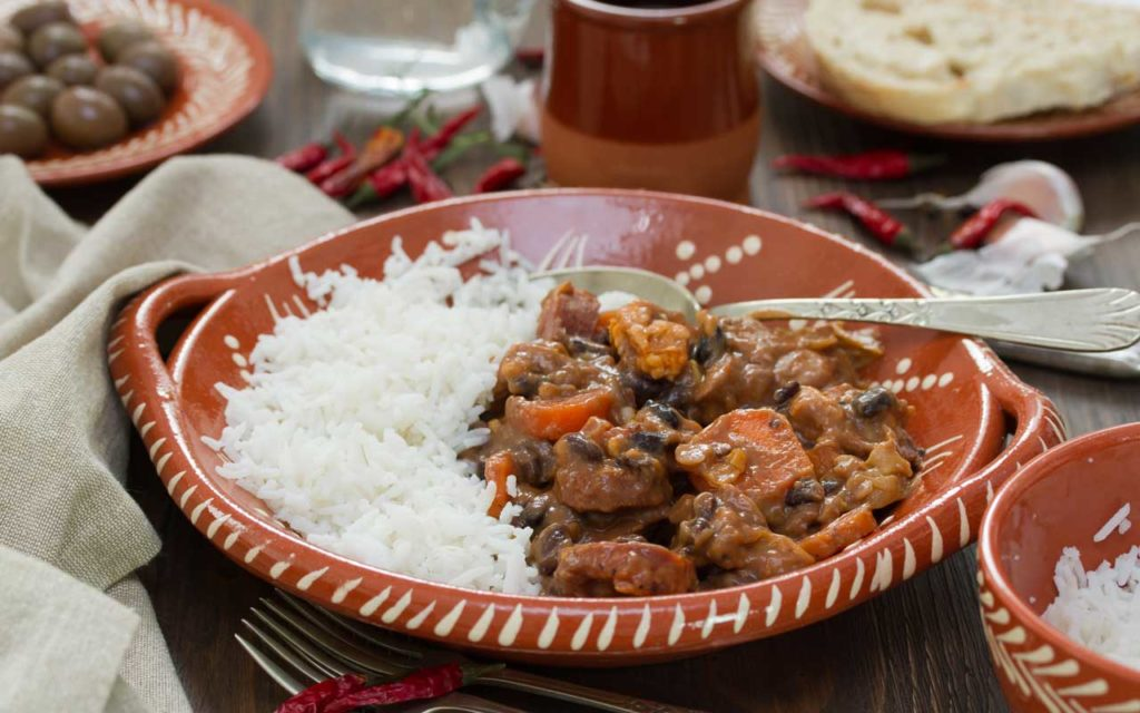 Portuguese Food: Feijoada (Bean Stew)