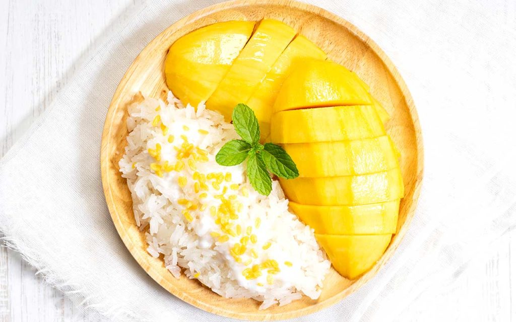 Mango Sticky Rice Best Desserts in the World