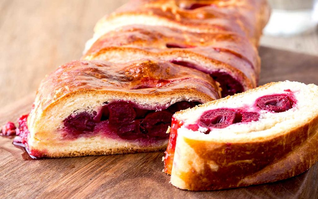 Sour Cherry Strudel Best Desserts in the World