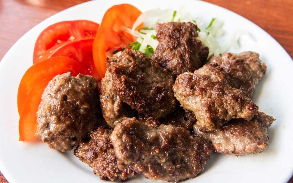 Albanian Food: Qofte – Lamb Meatballs