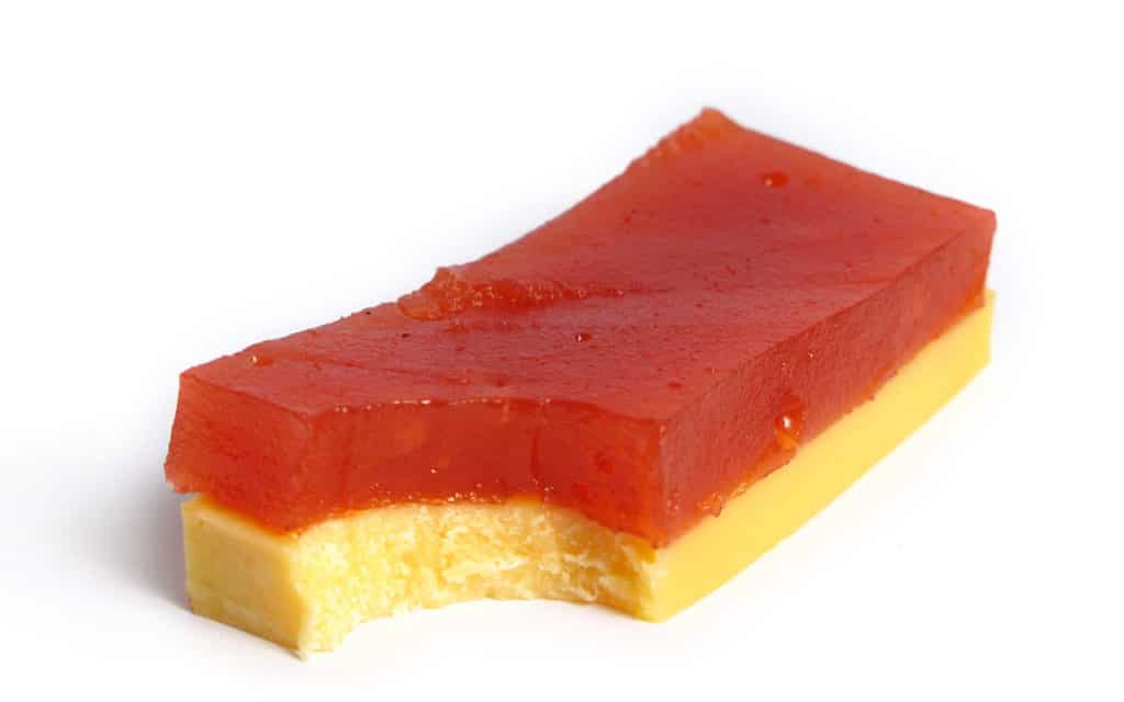 Argentinian dessert: Vigilante / Queso y Dulce (Quince or Sweet Potato Paste with Cheese)