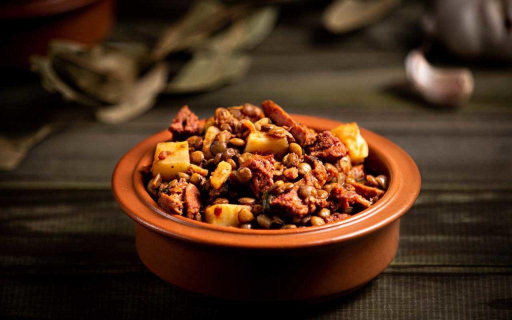 Argentinian Food: Guiso de Lentejas (Lentils Stew)