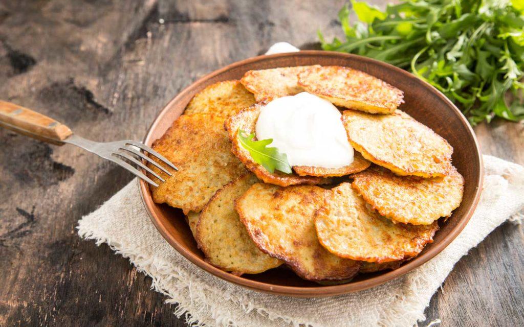 Belarusian food: Draniki / Дранікі