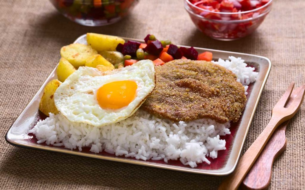 Bolivian Food – Silpancho