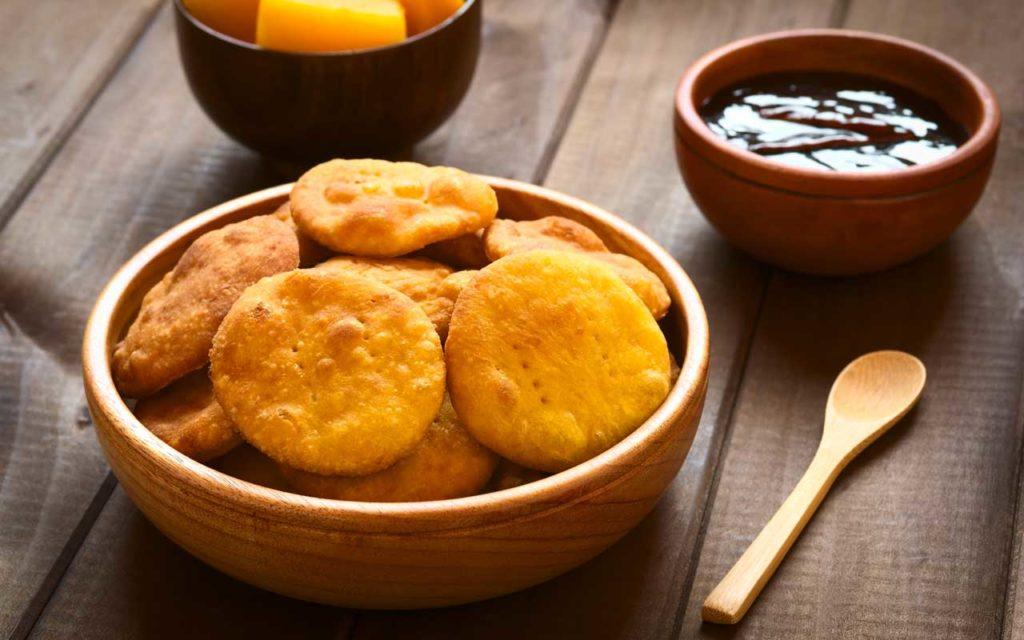Chilean Food: Sopaipillas (Fried Pastries)