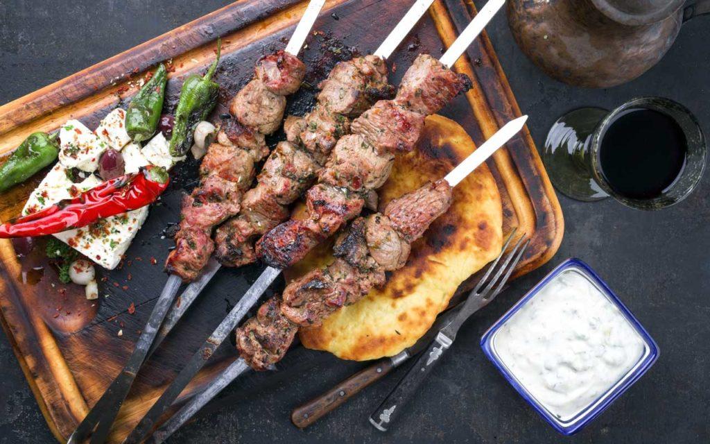 Cyprus Food: Souvlaki